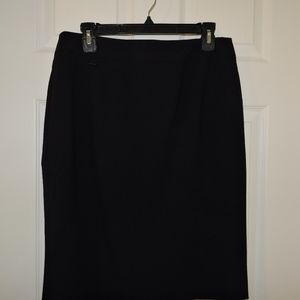 Calvin Klein Black Pencil Skirt Suiting